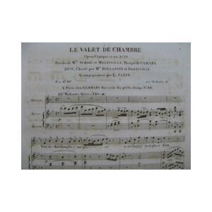 CARAFA-Michele-Le-Valet-de-Chambre-Opera-No-2-Duo-Chant-Piano-ou-Harpe-ca1820-pa