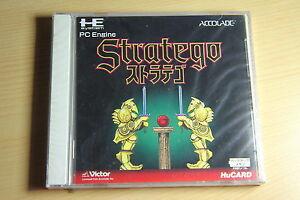 STRATEGO-NEC-PC-Engine-Hucard-import-JAP-neuf-new-neu