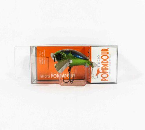 Jackall Pompadour Micro Floating Topwater Lure Kanabun Metalic 0992