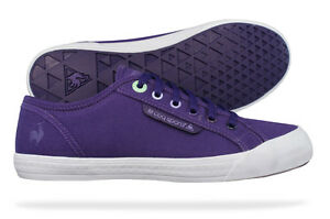 bf75dcc99805 Image is loading Le-Coq-Sportif-Deauville-Plus-Womens-Canvas-Trainers-