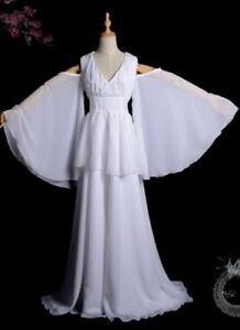 Details about Saint Seiya The Lost Canvas Sasha Athena Cosplay Costume  Dress Custom-made