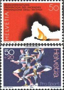 Schweiz-1283-1313-kompl-Ausgaben-postfrisch-1984-Sondermarken