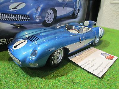 CHEVROLET CORVETTE SS 1957 1/18 AUTOART 71051 voiture miniature collec cabriolet