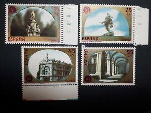 1991 España Edifil 3122/25 MADRID CAPITAL EUROPEA CULTURA (Nuevo)