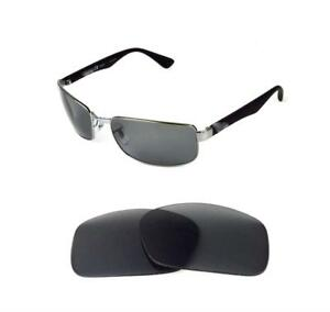 abd4e83542 Image is loading POLARIZED-GREY-ANTI-REFLECTIVE-REPLACEMENT-LENS-FIT-RAY-