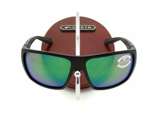 NEW Costa Del Mar HAMLIN Black /& 580 Green Mirror Plastic 580P
