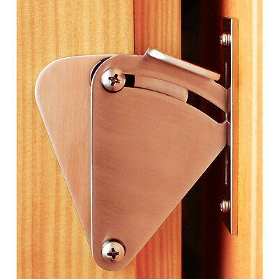 Stainless Steel Lock For Sliding Barn Wood Door Hardware Bolt Latch silvery New