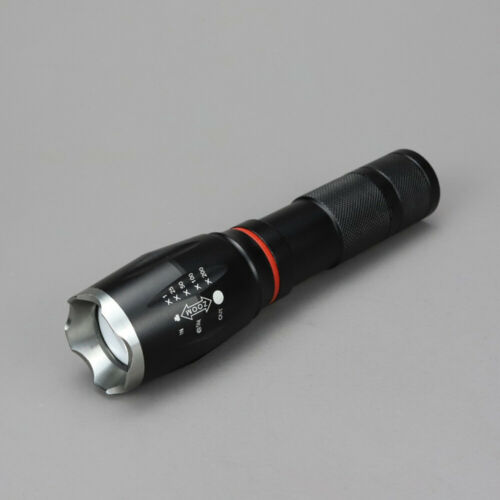 Tactical Flashlight Super Bright 4000 Lumen Zoomable T6 LED Torch W//Mafnet nw