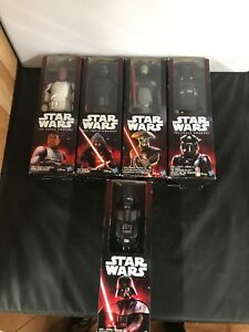 Lot-of-Five-2015-Star-Wars-Figures-Kylo-Ren-Darth-Vader-Fifth-Brother-Finn
