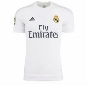 adidas Youth Real Madrid Home Jersey White SOCCER S12659 BOYS ...