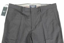 NWT Original Penguin Men's Pants 34W-34L Dark Navy Blue Stretch Wool