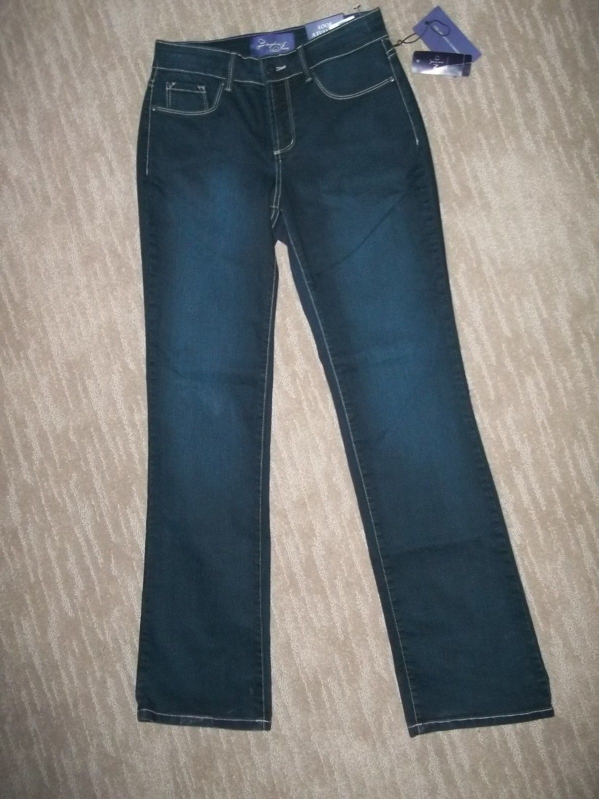 NYDJ Not Your Daughters SLIMMING Modern Bootcut Denim JEANS womens Size 0 NEW