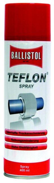 (1,59 €/ 100 ml) Fritz Göbel Ballistol Teflon Spray 400ml 70896