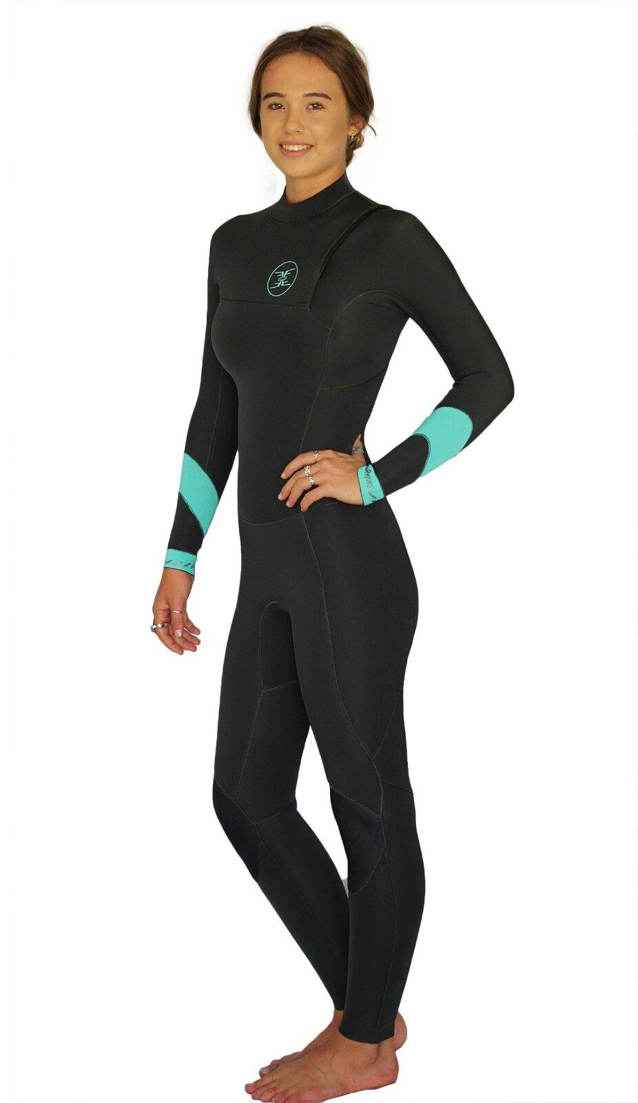 Ladies Wetsuit 3 2mm Zipperless Steamer  Ember  All Sizes 6, 8. 10 & 12