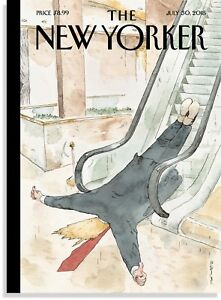 THE-NEW-YORKER-MAGAZINE-JULY-30-2018-COVER-034-THUMBS-UP-034-NEW-amp-UNREAD-FREE-SHIP