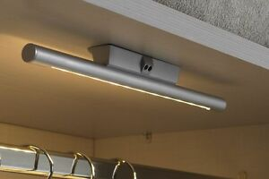led m belleuchte mit sensor einbaulampe unterbaulampe schrankbeleuchtung wd08 ebay. Black Bedroom Furniture Sets. Home Design Ideas