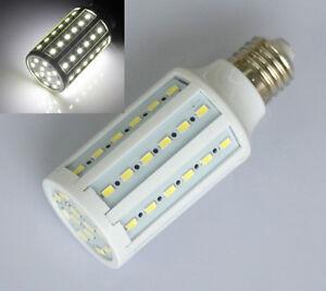 4x15w e27 60 led 5630 smd energiesparlampe birne lampen licht kaltweiss ebay. Black Bedroom Furniture Sets. Home Design Ideas