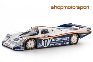 Coche Scalextric Porsche 962c 85 Rothmans / Slot.it Cw20 Stuck-bell-holbert
