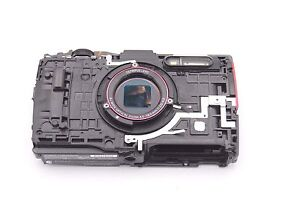 OLYMPUS-STYLUS-TG-4-MIDDLE-FRAME-W-FLASH-UNIT-TOP-COVER-USB-HDMI-DOOR-RED