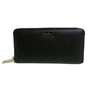 Kate Spade Wallet WLRU2072 Highland Place Neda Black Agsbeagle #COD Paypal