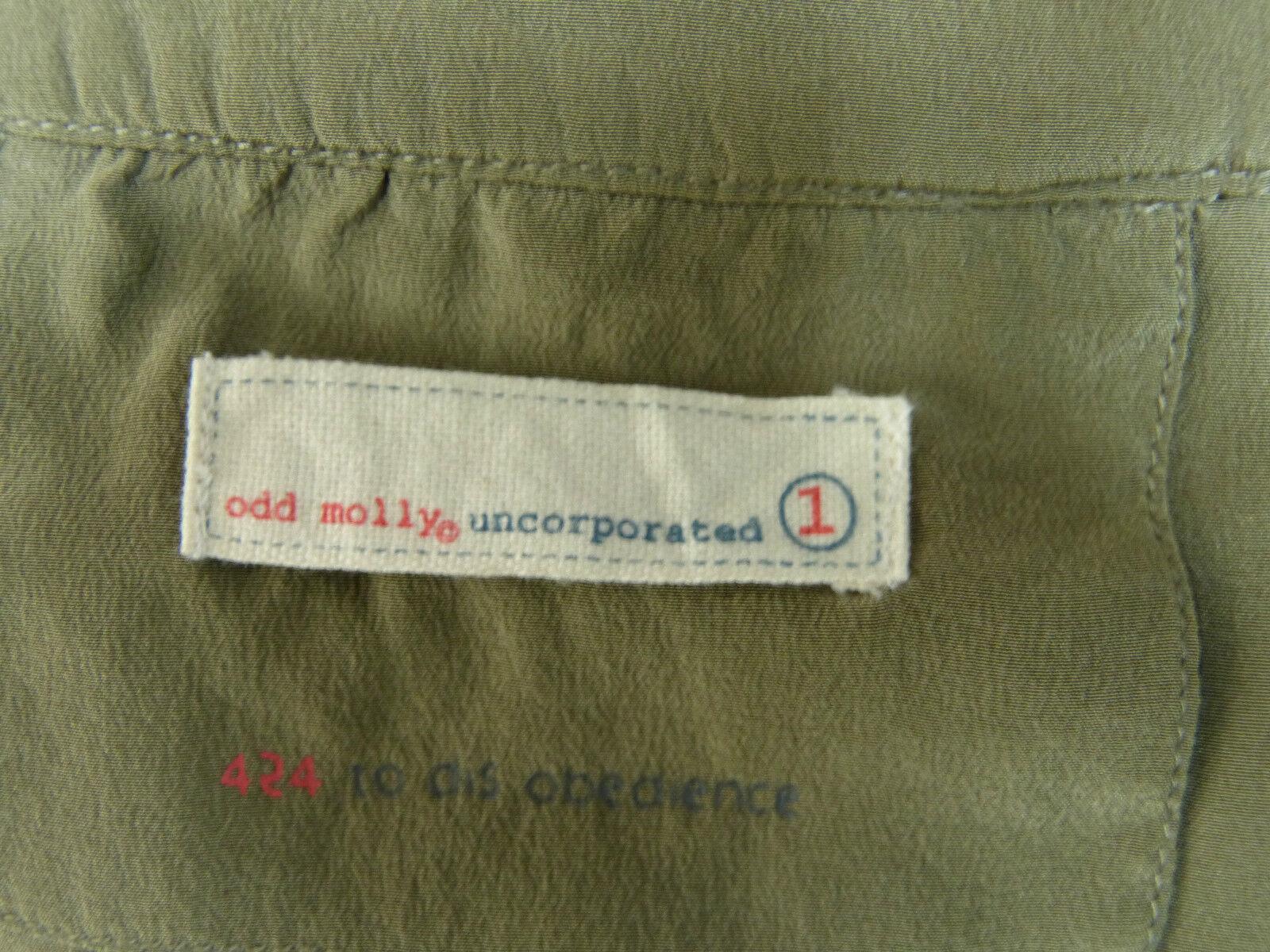 Odd Molly Tunica Abito Tg S - - - 1 Multicolore & 100% SETA (J 8707) c5ddb4