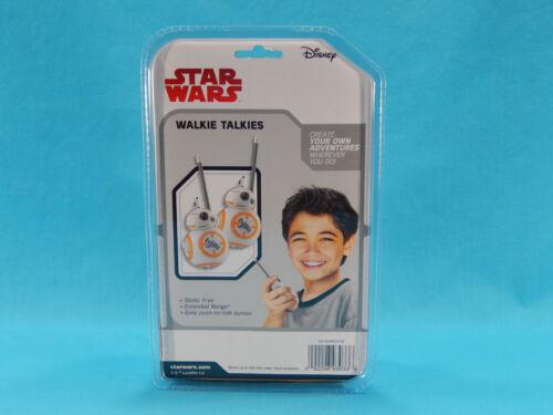 Star Wars BB-8 Walkie Talkies 500 Ft Range New Sealed