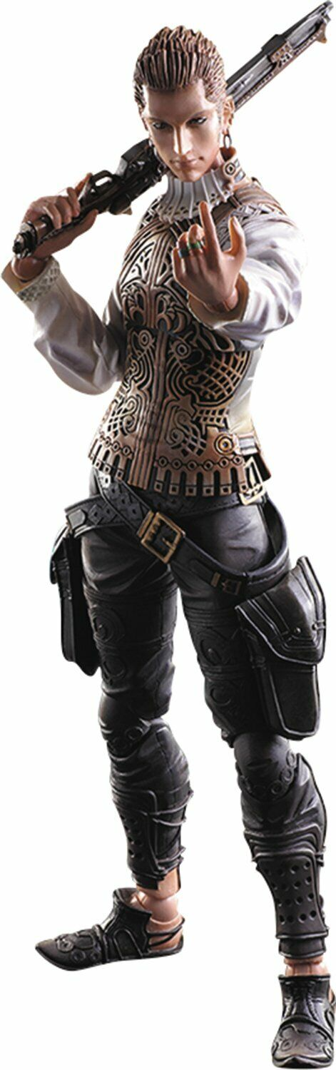 FFXII PLAY ARTS KAI BALTHIER - new genuine play arts in box unopened