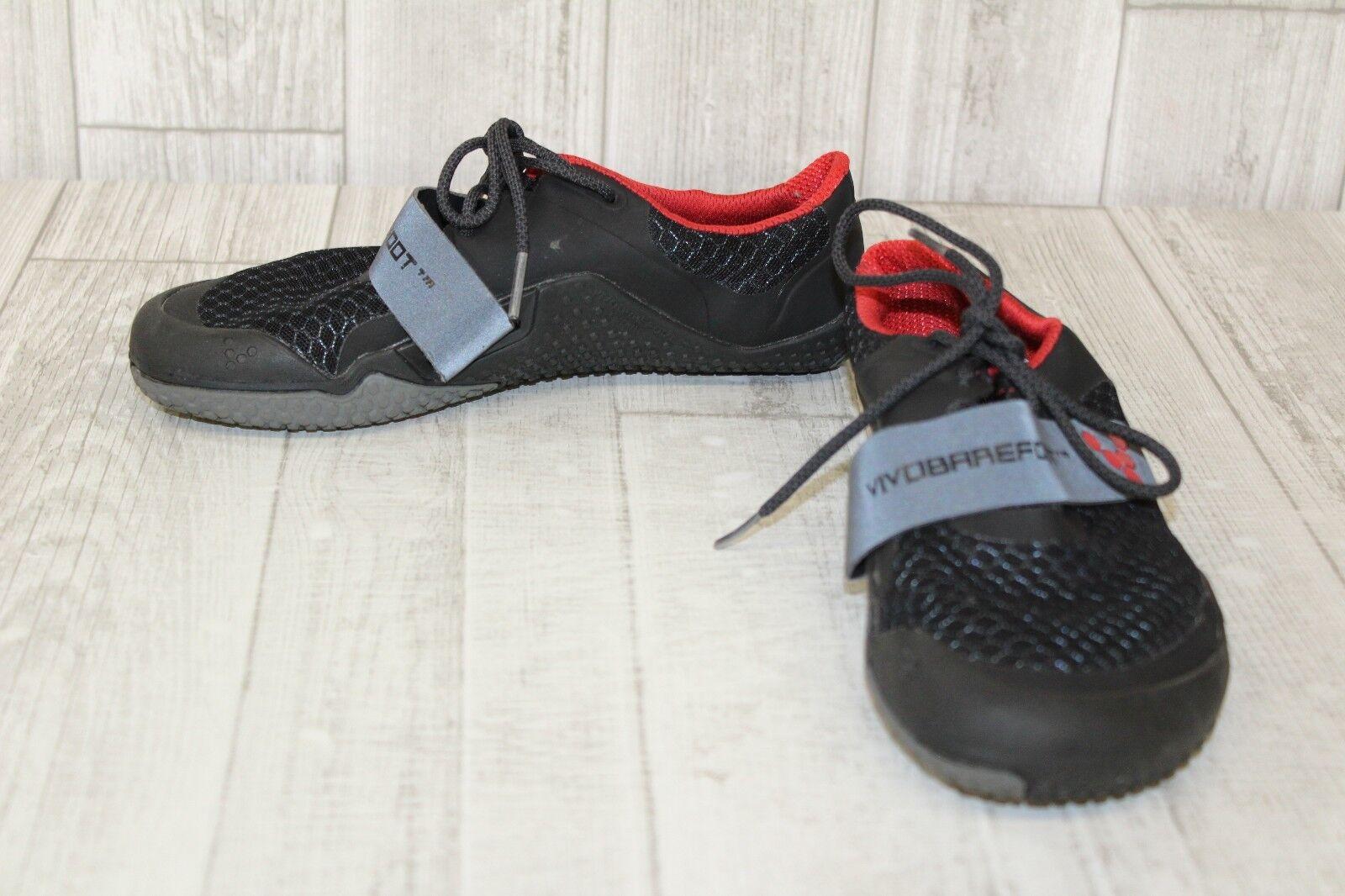 VivoBarefoot Motus Cross Training zapatos, Para Para Para Mujer-Talla 36 euros nos (6), negro rojo  más orden