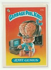 Garbage Pail Kids Chrome Series 1 Refractor Base Card 27b JENNY GENIUS