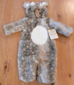 4d4d1d1cc NWT Pottery Barn Kids WOODLAND BABY FAWN Deer Halloween Costume 6-12 ...