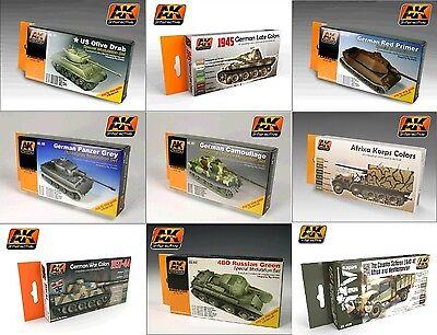 AK Interactive - Panzer Tanks Painting Set