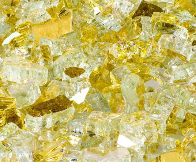 Gold rush  reflective Fire glass Special  10kg