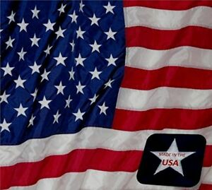 American-USA-Flag-4x6-ft-Sewn-Stars-amp-Stripes-Outdoor-Nylon-Made-in-USA