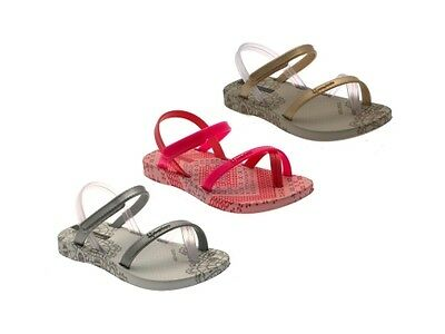GIRLS KIDS CHILDRENS IPANEMA SANDALS EVA FLIP FLOPS TOE POSTS SHOES INFANT 4 - 7