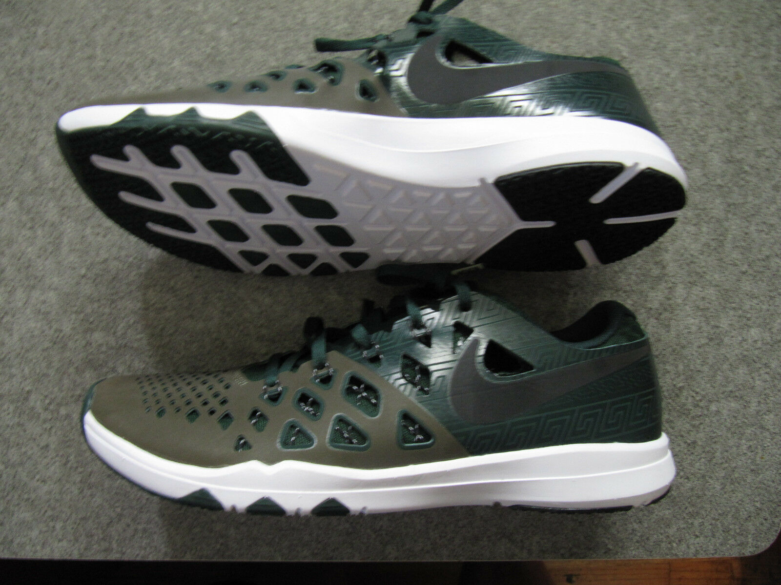 New shoes for men and women, limited time discount Nike Train Speed Amp 4 Michigan State Spartans  844102 309 MSU Comfortable