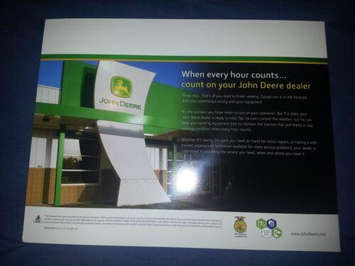 "John Deere /""Box Drills/"" Catalog Brochure Leaflet"
