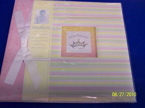 Little Princess Baby Keepsake Memory Deluxe Scrapbook