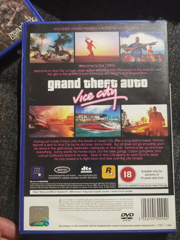 GTA Vice City , PS2, action