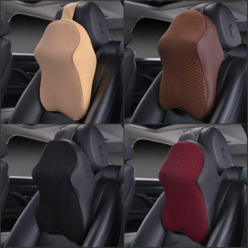 New Car Seat Headrest Pad Memory Foam ow Head Neck Rest Support Cushion