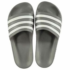 Details about NEW 2019 Adidas Mens Duramo Sliders Flip Flops GreyWhite 6 12 Limited edition