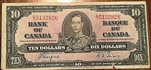 BANK-OF-CANADA-TEN-DOLLARS-10-BILL-PAPER-MONEY-COYNE-TOWERS