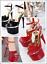 Tacco Bianco Girl Donna Sandali Art Rosso Nero Da Alto 10368 Scarpe Sexy xXZqUCF5w