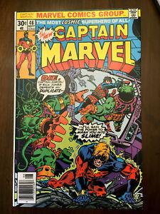 CAPTAIN-MARVEL-46-Marvel-Comics-1976-VERY-FINE