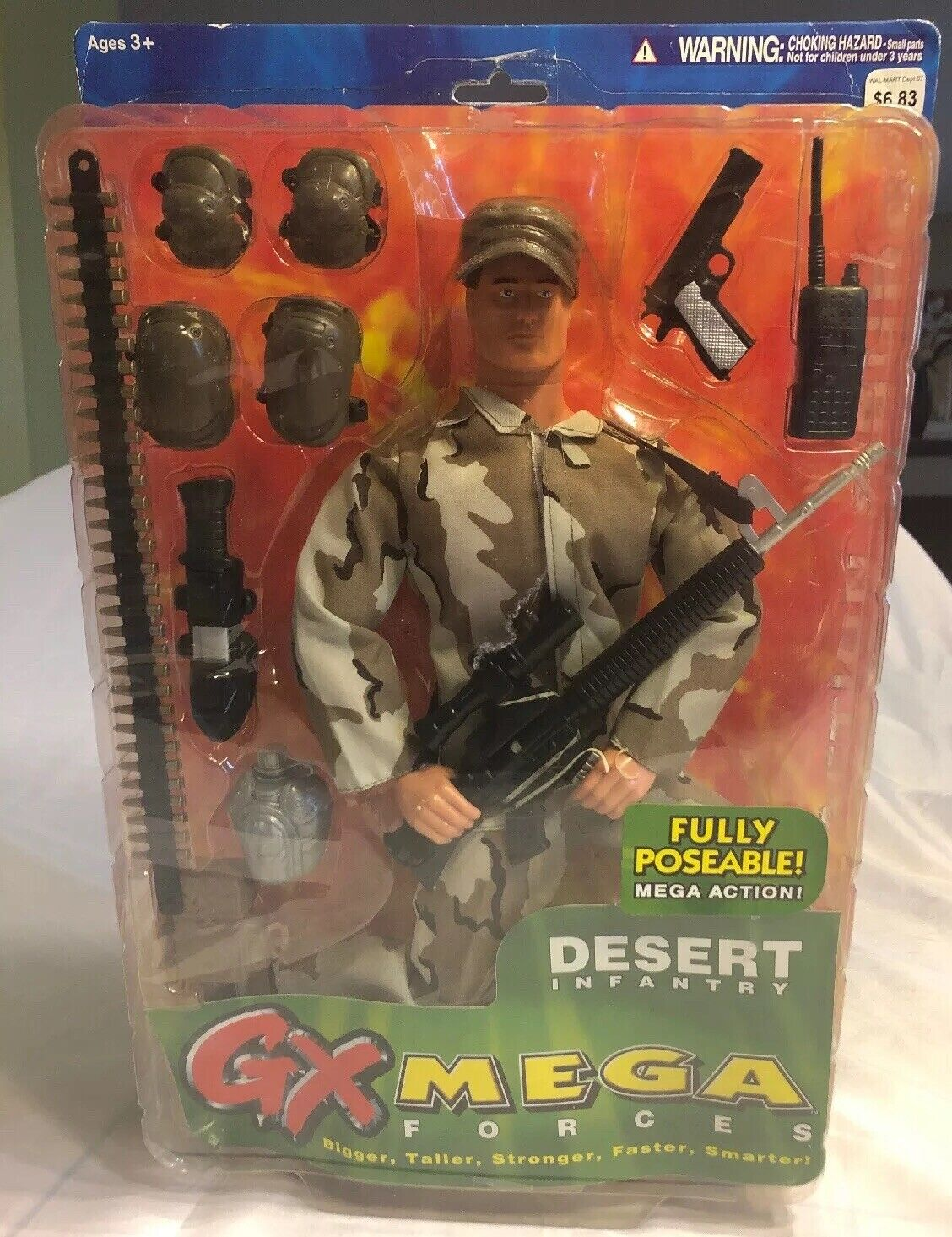 Playco giocattoli  GX MEGA Force Desert Operations Military HEROES 15  azione cifra  economico online