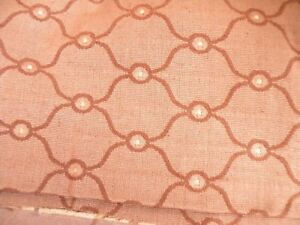 Tapestry Upholstery Rust Color Design Woven Into Fabric 4 Yards Ebay