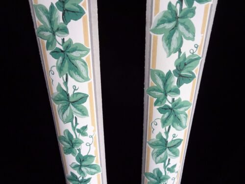 Vintage 1930/'s IVY Wallpaper Border Trimz Brand Prepasted Add Color to Any room