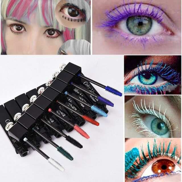 3d Makeup Fiber Lashes Eye Mascara Eyelash Extension Waterproof