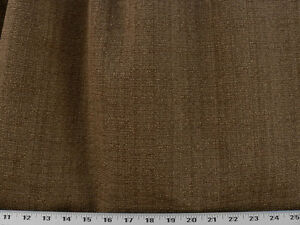 Drapery-Upholstery-Fabric-Tightly-Woven-Rustic-Burlap-Look-Solid-Gold-Brown