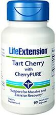 TWO BOTTLES $13.99 Life Extension Tart Cherry with CherryPURE heart brain muscle