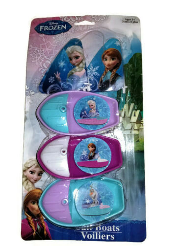 Brand New Disney Frozen Sail Boats